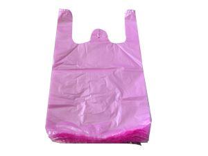 粉白色背心袋