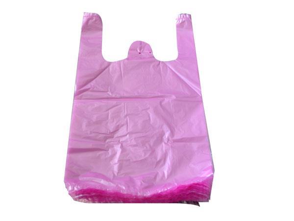 粉紅色背心袋